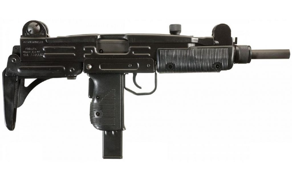 Full automatic Uzi SMG - Not available in shops