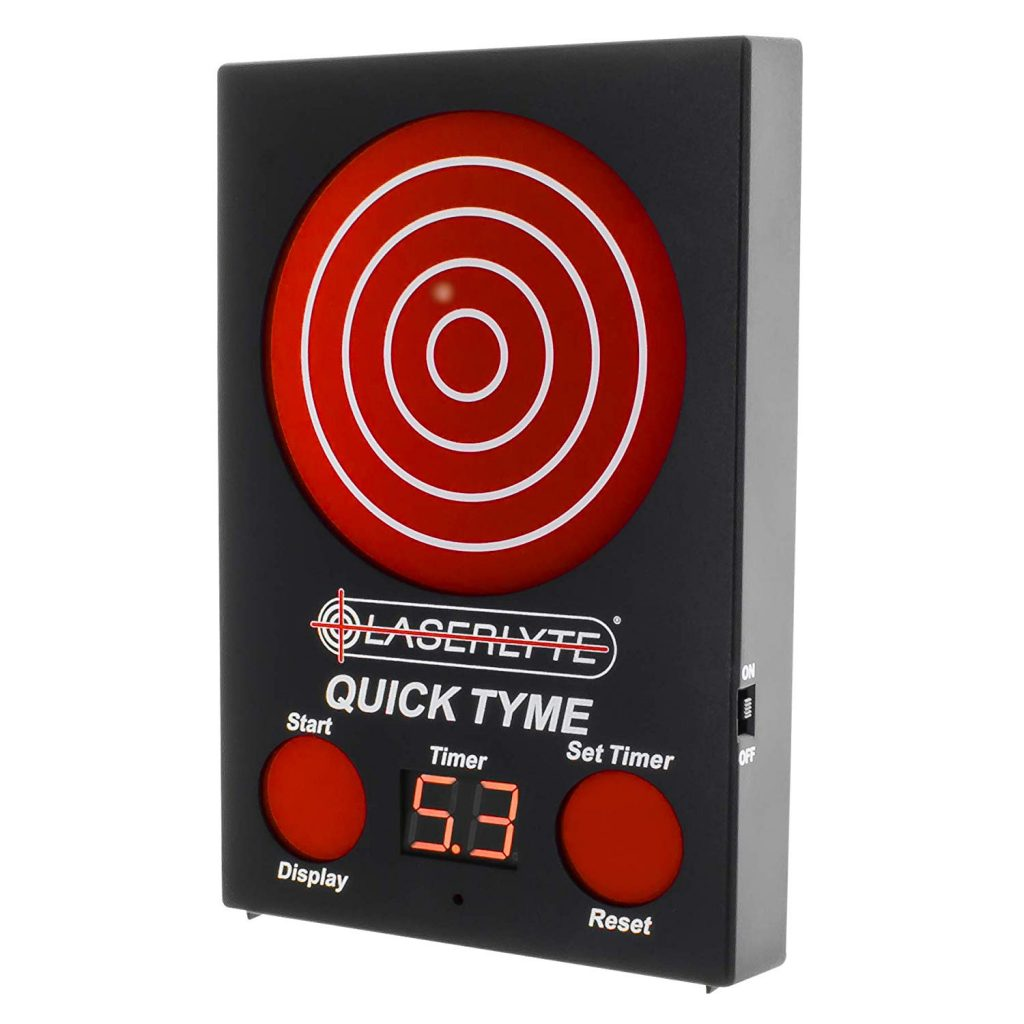 LaserLyte Target for dryfire firearms training