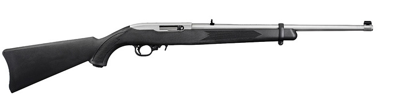 Ruger 10/22 Carbine Stainless Steel rifle on sale. Arguably the best 22 Long Rifle ever.