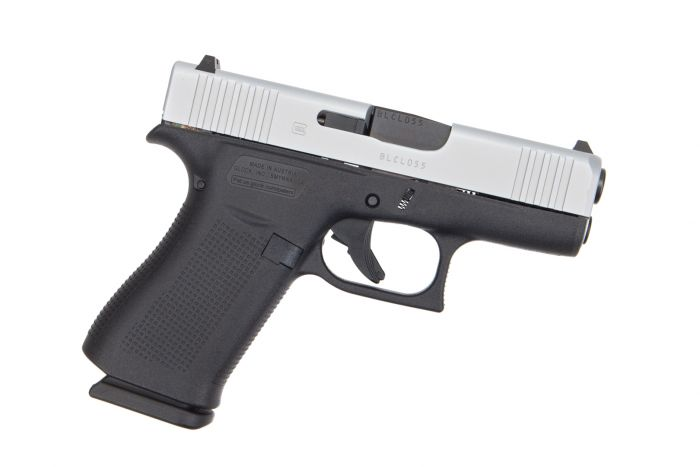 The Glock 43X, a new concealed carry weapon that refines the Glock recipe for personal defense.