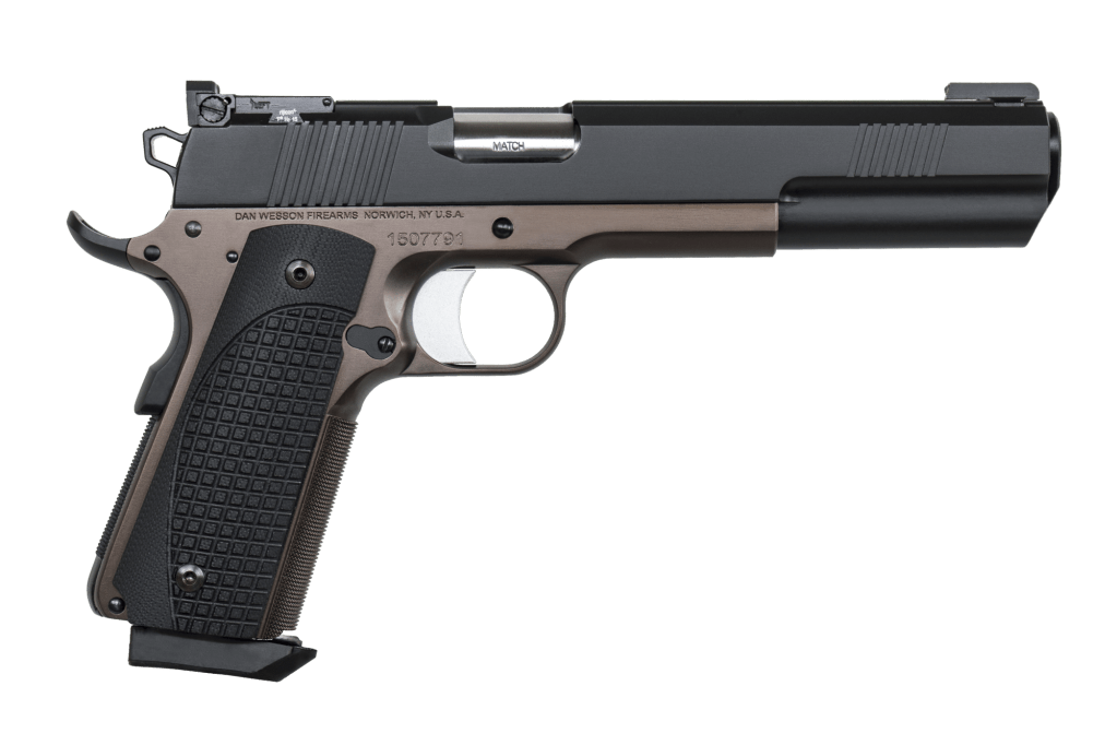 Dan Wesson Bruin - a beast of a hunting 1911 with a 6 inch barrel and match grade everything. Buy your gun online now.