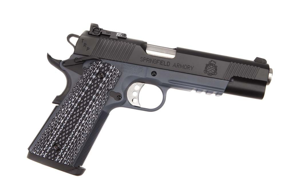 Springfield Armory TRP Operator - .45 ACP Tactical Response Pistol and the FBI service pistol.