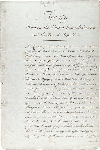 Договор о покупке Луизианы