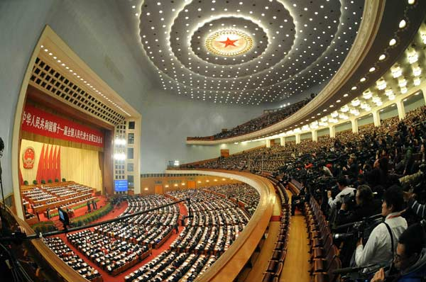 China's parliament starts annual session