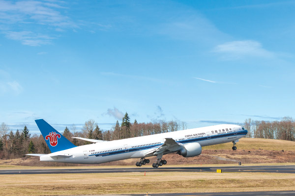 Airline receives its first Boeing 777-300
