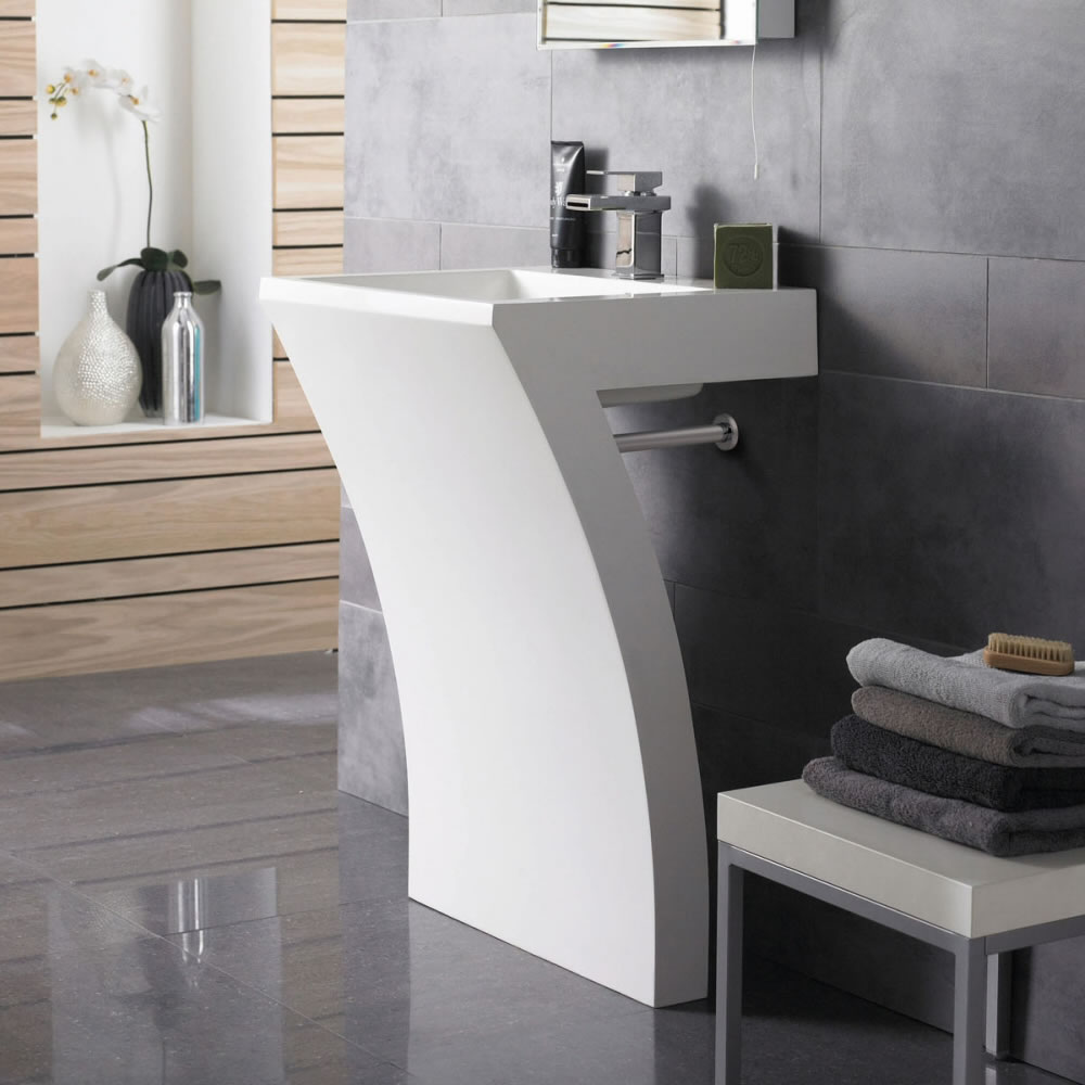 The Many Different Styles of Modern Bathroom Sinks