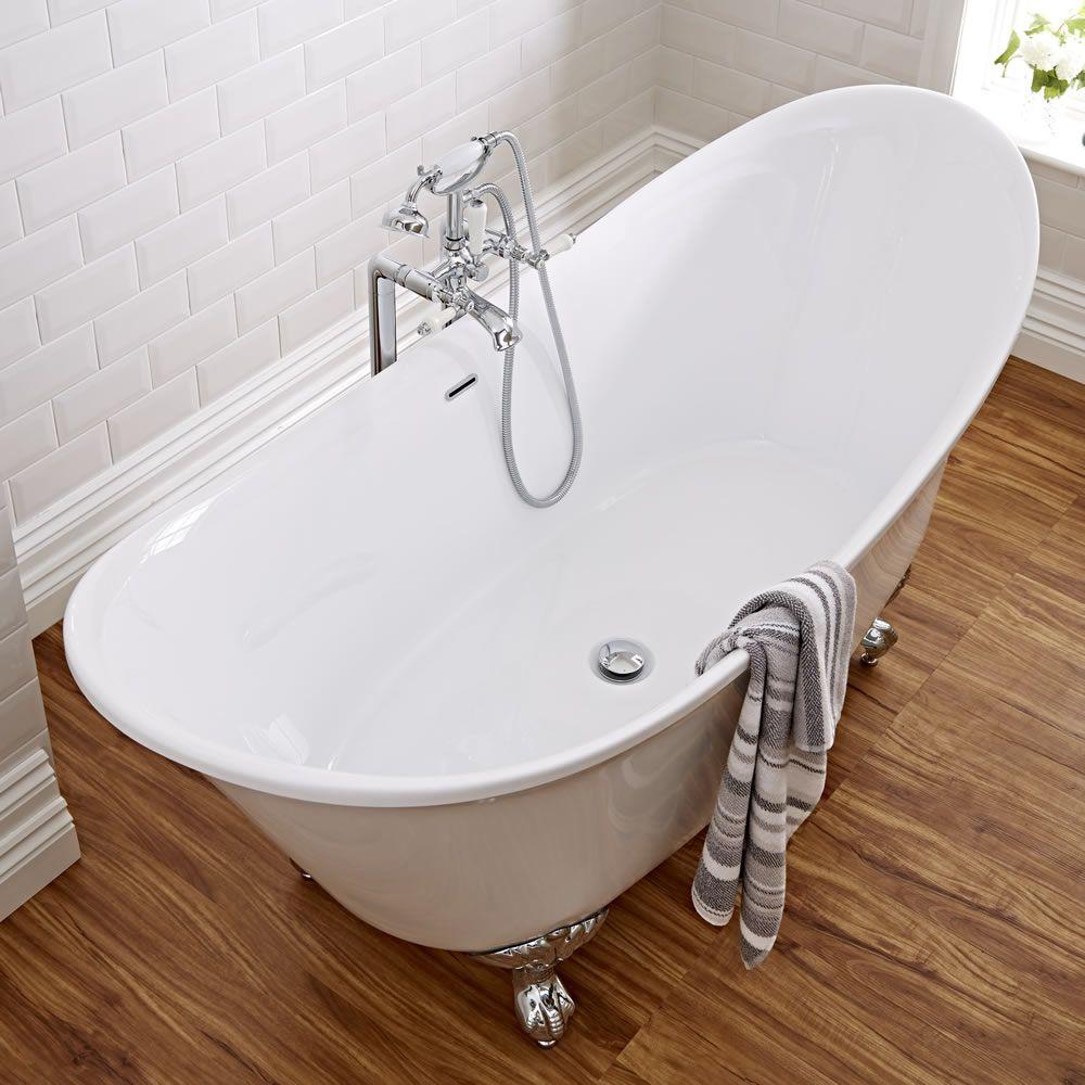 Acrylic Double Ended Freestanding Bath Tub 70