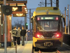 Minneapolis-St. Paul got $5 million to support development along transit corridors. ##http://finance-commerce.com/2010/10/hud-awards-5-million-planning-grant-to-met-council/##Finance & Commerce##