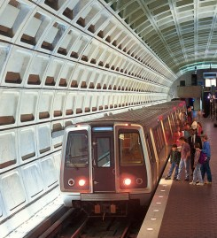 Transit riders' tax benefits hinge on Congress ironing out an agreement on tax cuts for the rich. Image: ##http://woldcnews.com/DCnews/woldcnews/expanded-cell-phone-coverage-coming-to-metrorail/##WOL##