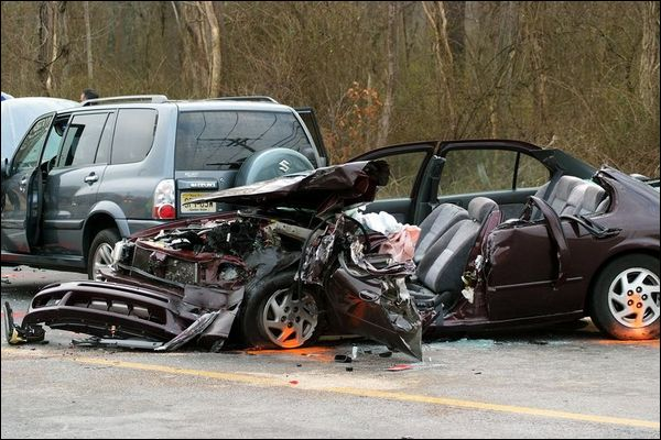 Car Crashes Because Of Texting And Driving