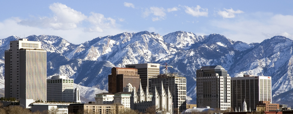 Those sprawl-proof mountains give Salt Lake City a good incentive to build smart. Photo: ##http://www.wheeler1968.com/##Wheeler 1968##