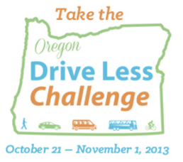 Oregon challenged its residents to drive less and they came through. Image: ##http://www.drivelessconnect.com/home## Drive Less Connect##