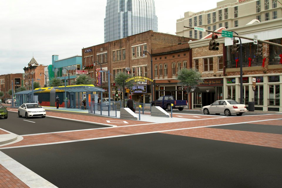 A rendering of how the Amp would look in Nashville, via Nashville Public Radio.