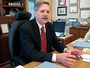 Sen. John Hoeven is again championing drivers' rights, even at the expense of crash investigations. Photo: ##http://sayanythingblog.com/entry/senator-hoeven-convinces-feds-to-withdraw-calorie-limits-from-school-lunches/##Say Anything Blog##