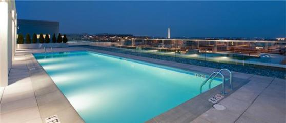"Rooftop pool with a view of the Washington Monument? All this could be yours if you have insane amounts of disposable income. And I do mean ""disposable."" Photo: ##http://www.rentalsgonewild.com/propertydetail/183/i-street-nw-washington-dc-20037##Rentals Gone Wild##"