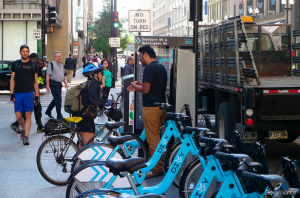 Those to use bike share to commute to work may soon be eligible for the same tax benefits everyone else receives. Photo: Steven Vance