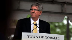 Mayor Chris Koos of Normal, Illinois, says some measures in the EPW transportation bill will negatively impact small communities like his. Photo: ##http://www.wjbc.com/common/page.php?pt=Mayor+Koos+to+speak+on+transportation+before+US+House+panel&id=117984&is_corp=0##B. Corbin/WJBC##