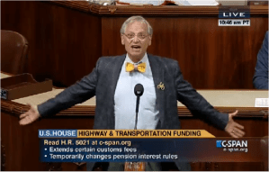 Rep. Earl Blumenauer was one of just 10 Democrats to reject the House extension.