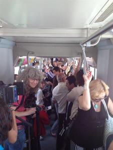 The Tucson Streetcar has also beaten ridership expectations. Will Maryland's Purple Line too? Photo: ##http://live.azstarnet.com/Event/QA_with_Sun_Link_officials_on_the_streetcar?Page=2##Daily Star##