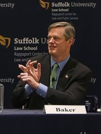 Massachusetts Governor-elect Charlie Baker. Photo: Wikipedia