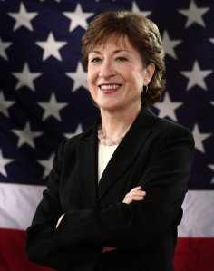 Sen. Susan Collins wants to ease some requirements aimed at ensuring that truckers are well-rested.