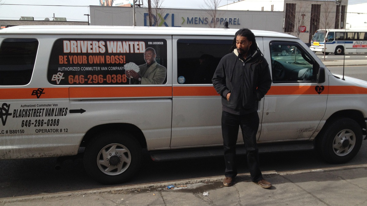 New York City's dollar vans and other vanpool and ride-sharing options do a better job appealing to low-income residents, often serving specific ethnic communities. Photo: ##http://mashable.com/2014/04/10/dollar-vans-new-york/##Mashable##