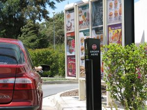 Salt Lake City restaurants banded together to prevent customers without cars from purchasing products through drive-thru windows. Photo: WIkipedia