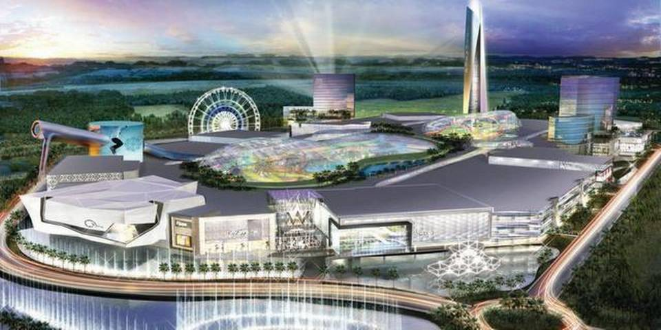 Miami Mayors Economic Fix Build Americas Biggest Tackiest Mall - Largest malls in usa