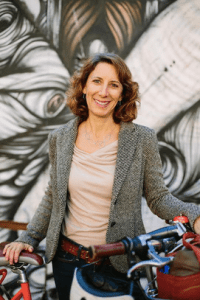 Leah Shahum, former head of the San Francisco Bicycle Coalition, will head up the Vision Zero Network. Image courtesy of Leah Shahum.