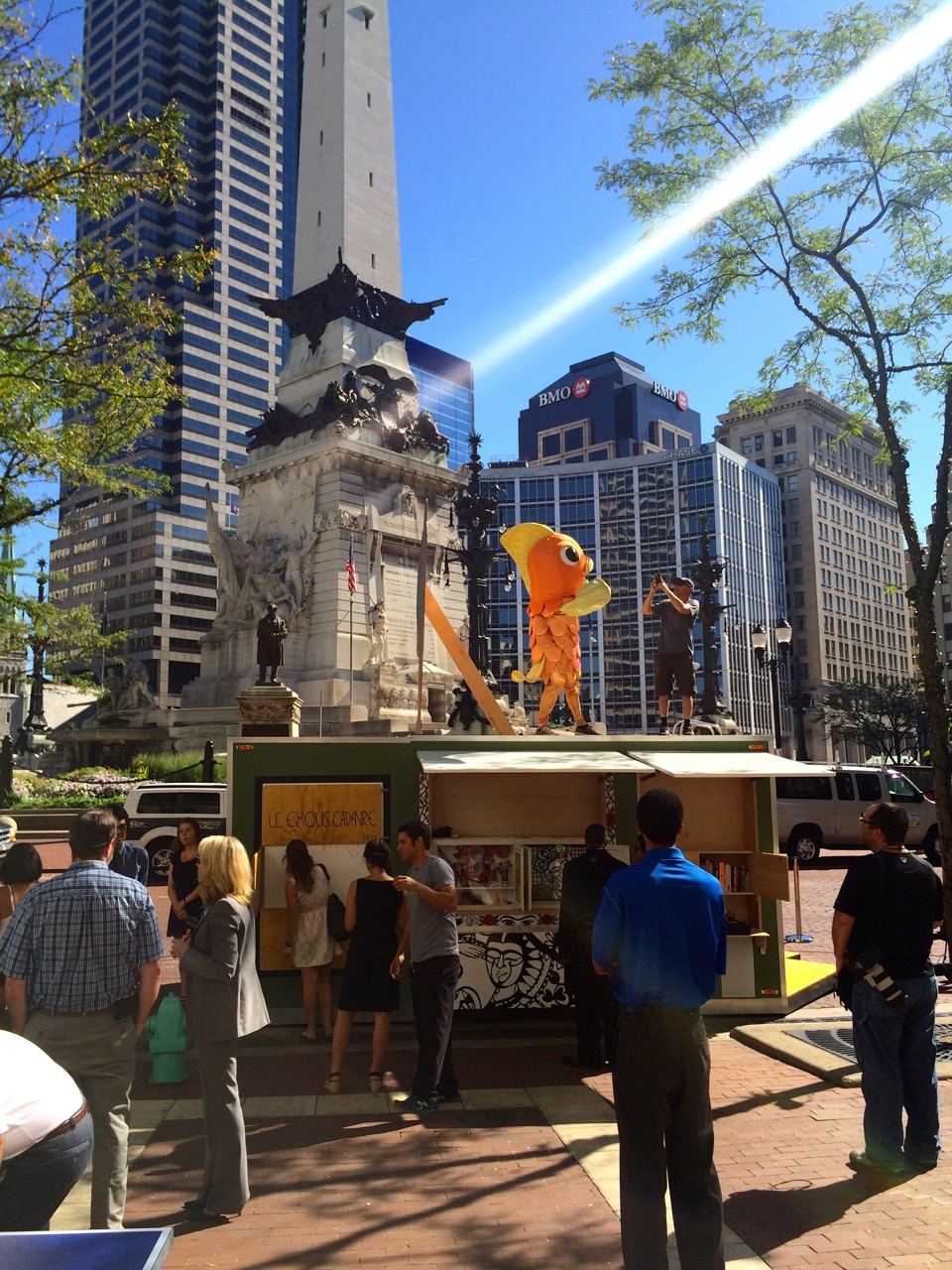 From 11 a.m. to 8 p.m. each day, programming for all ages will energize Monument Circle.