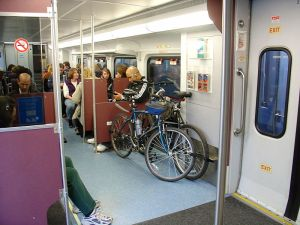 Those who take the bus or train to work will soon enjoy the same tax benefits as those who drive. Photo: Wikipedia