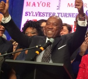 Houston Mayor Sylvester Turner says the state news a new strategy for managing congestion. Photo: Houston Tomorrow