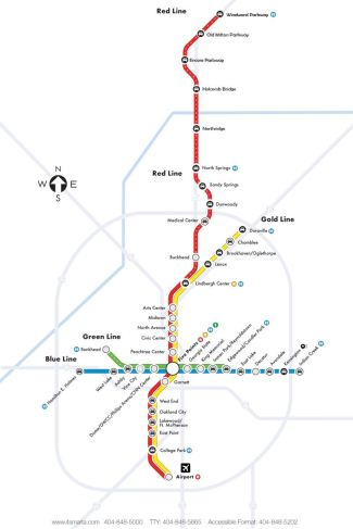 Extending commuter rail to Alpharetta would have been very expensive. Image: MARTA via Curbed