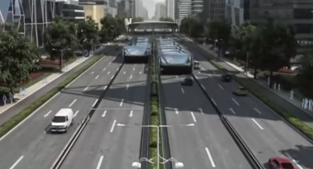 A Chinese inventor actually built and tested this concept last week -- but it only emboldened skeptics of the concept. Photo: Youtube via Popular Science