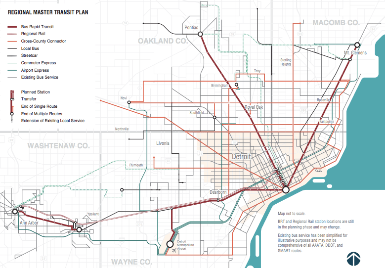 Transit Vote 2016 With Historic Decision Detroit Could Heal Old