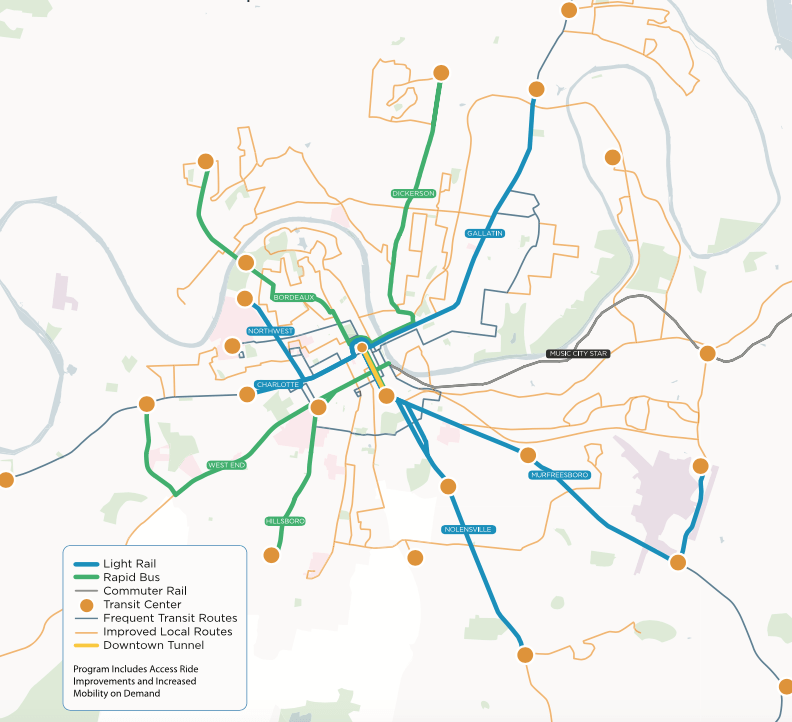 Is Nashville Finally Ready to Invest in Transit Streetsblog USA