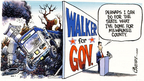 Walker cartoon