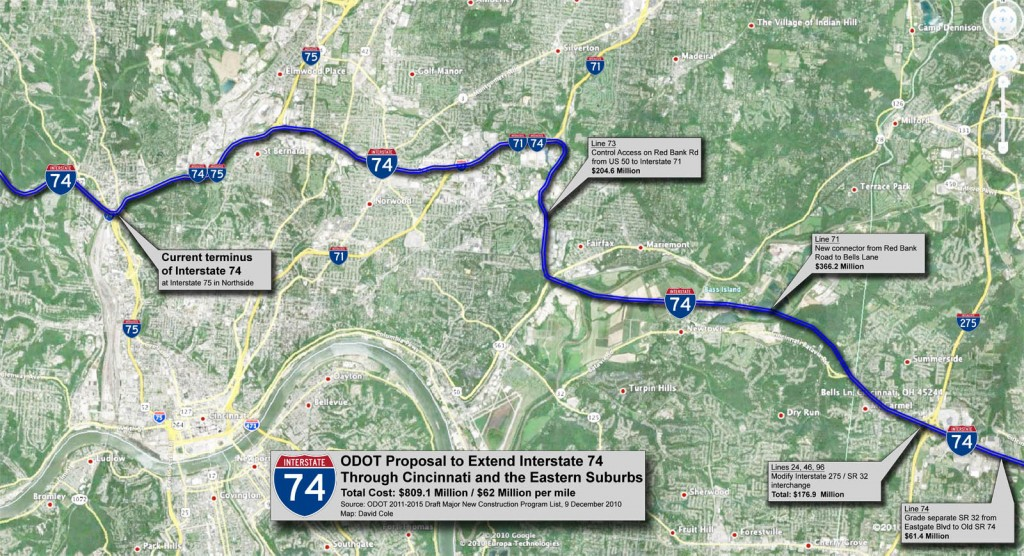 Is Ohio Trying To Sneak A Highway Through Cincinnati Streetsblog Usa
