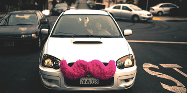 """Is """"ridesharing"""" the right term for services like Lyft? Photo: Alfredo Mendez on Flickr"""