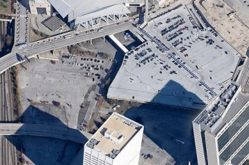 Downtown Atlanta has 93,000 parking spaces, according to a new report. Photo: ATL Urbanist