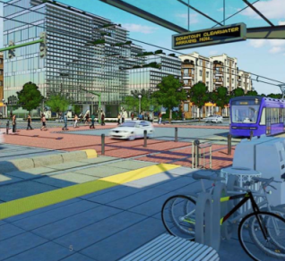 If Tampa voters approve a new spending package today, bus service will be increased 65 percent and the region will move toward developing light rail. Image: Greenlight Pinellas