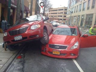 Parking has a way of bringing out the worst in us. Photo: New Rochelle Talks