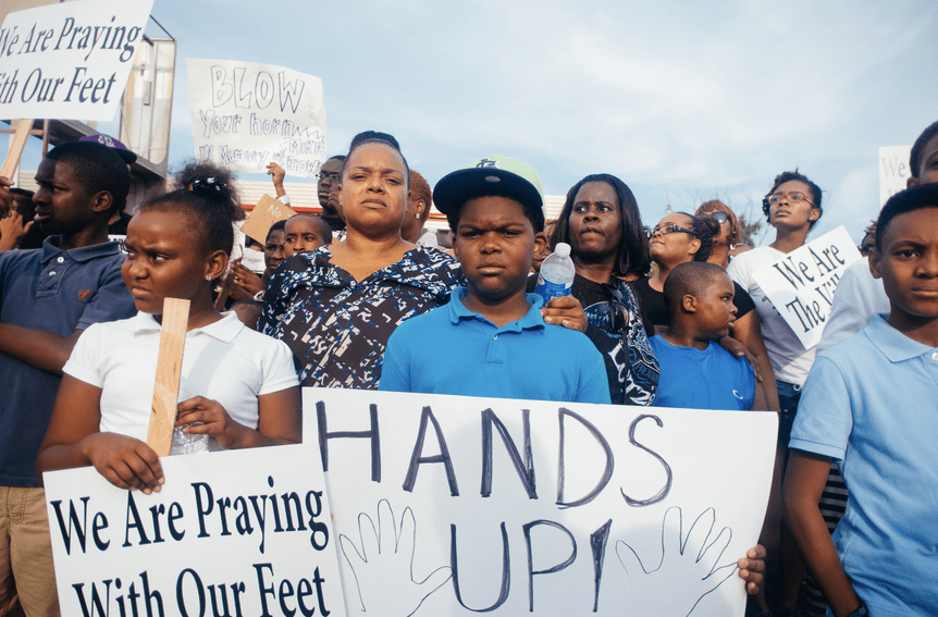 What are the underlying problems that helped produce unrest in Ferguson? A new report examines. Photo: Wikipedia