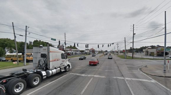 How many pedestrians have to get killed on Louisville's deadly Dixie Highway before the press and police stop blaming each individual who dies? Image: Google