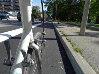 Protected bike lanes so seem to encourage new people to try cycling, according to a new study Photo: Martin Reis via I Bike TO