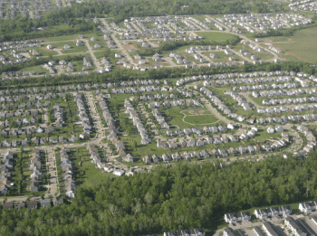 If the next 1 billion urban residents live in sprawl like this, the planet is in serious trouble. Photo: Future Atlas via Flickr.