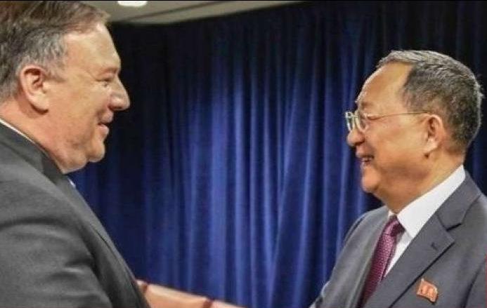 Photo of بومبيو بحث آفاق قمة ترامب وكيم الثانية مع نظيره الكوري الشمالي