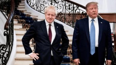 Photo of ترامب وجونسون يتفقان على إبرام اتفاق تجاري بين البلدين بحلول يوليو