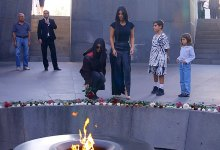 Photo of كيف احتفلت كيم كارداشيان باعتراف بلادها بالإبادة الجماعية لأجدادها ؟