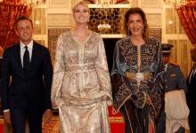 Photo of إيفانكا ترامب بالقفطان المغربي في مأدبة عشاء ملكية